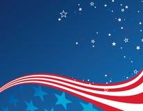 patriotisk bakgrund Arkivbilder