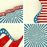 patriotisk bakgrund stock illustrationer