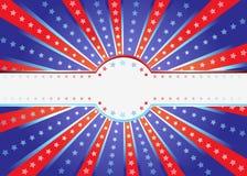 patriotisk bakgrund Arkivfoto