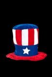 patriotisk hatt Fotografering för Bildbyråer