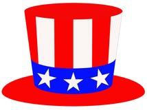 Patriotisk hatt Arkivbilder