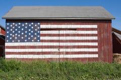 Patriotisk ladugård Fotografering för Bildbyråer