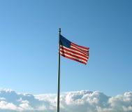 patriotisk liggande Royaltyfri Foto