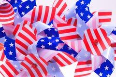 patriotisk pinwheel Fotografering för Bildbyråer