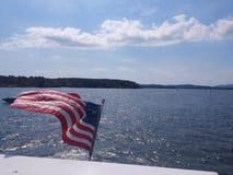 Patriotisk sjö Arkivfoto