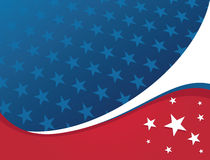 patriotisk stjärna för amerikansk bakgrund Royaltyfri Foto