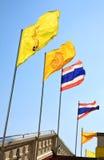 Patriotiska flaggor Royaltyfria Bilder