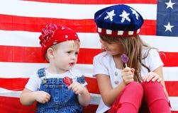 patriotiskt Arkivbild