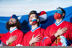 patriots Fotografie Stock