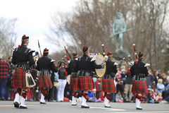 Patriots Day Parade Royalty Free Stock Photography