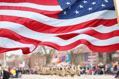 Patriots Day Parade Royalty Free Stock Images