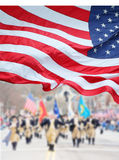 Patriots Day Parade Stock Images