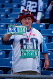 Patriots Fan from Vermont Stock Image