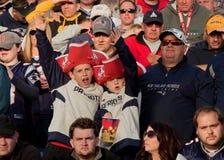Patriots fans  Stock Image