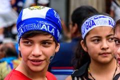 Patriots, Independence Day, Antigua, Guatemala Royalty Free Stock Image
