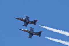 Patriots Jet Team Royalty Free Stock Images