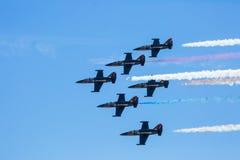Patriots Jet Team Stock Photo