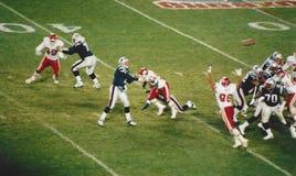 Patriots v. Kansas City Chiefs, Monday Night Football Stock Image