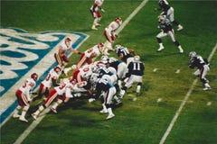 Patriots v. Kansas City Chiefs, Monday Night Football Stock Images