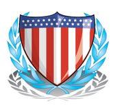 patriotsköld Royaltyfri Bild