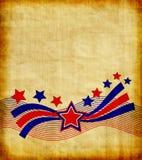 Patriottisch Document vector illustratie