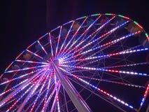 Patriottisch Ferris Wheel Royalty-vrije Stock Fotografie