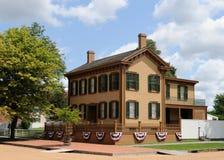 Patriottisch huis royalty-vrije stock fotografie