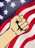 Patriottisch symbool Stock Foto