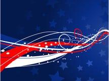 Patriottische achtergrond vector illustratie