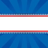 Patriottische achtergrond Stock Foto's