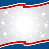 Patriottische achtergrond Stock Fotografie
