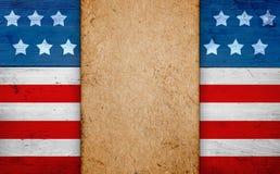 Patriottische Amerikaanse achtergrond Royalty-vrije Stock Foto's