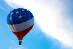 Patriottische ballon Royalty-vrije Stock Foto's