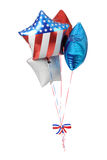Patriottische Ballons - de V.S. Stock Foto's