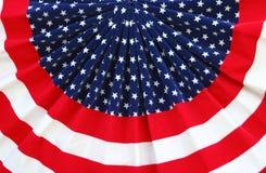 Patriottische Bunting Stock Afbeelding