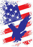 Patriottische de V.S.achtergrond met adelaar