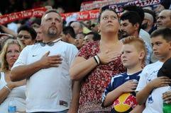 Patriottische Familie