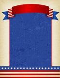 Patriottische Grens Stock Afbeeldingen