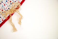 Patriottische kleuren royalty-vrije stock foto's