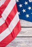 Patriotyczna flaga Stany Zjednoczone Ameryka zdjęcie royalty free