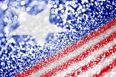 patriotyczna tło amerykańska flaga Obrazy Royalty Free