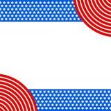 Patriotyczna tło amerykanina usa flaga royalty ilustracja