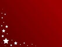 patriotyczne gwiazdy Obraz Royalty Free