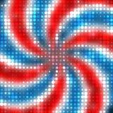 Patriotyczne kropki Obraz Stock