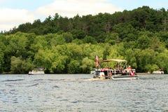 Patriotyczni pontony Obraz Royalty Free