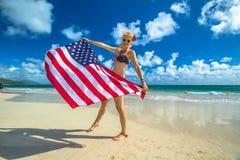 Patriotyczny amerykański pojęcie zdjęcie royalty free