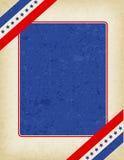 patriotyczny graniczny Obraz Royalty Free