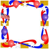 patriotyczny graniczny Fotografia Royalty Free