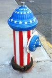 patriotyczny hydrant zdjęcia royalty free