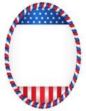 patriotyczny ramowy Zdjęcia Stock